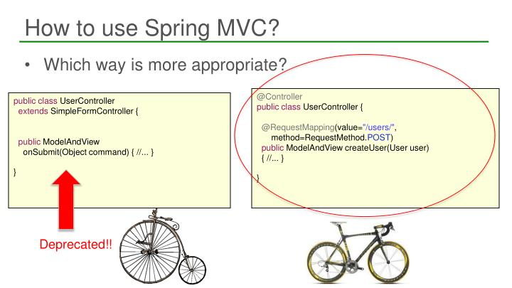 How to use Spring MVC?