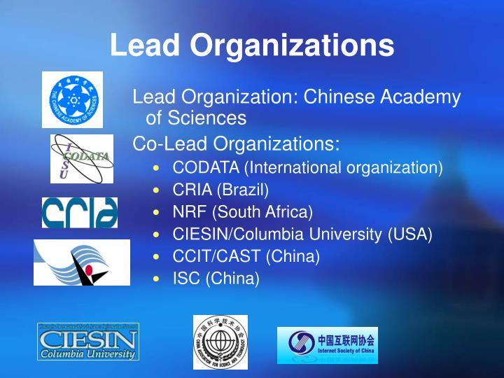 Lead Organiza
