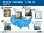 building resiliency across the nation