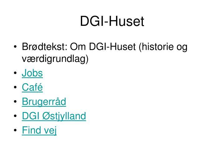 DGI-Huset