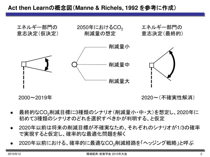 Act then learn manne richels 1992