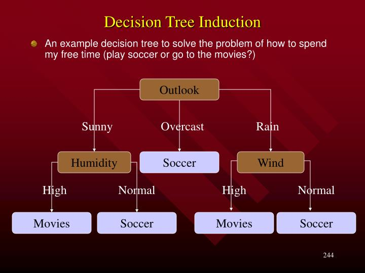 Decision tree induction1