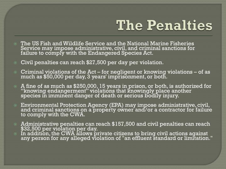 The Penalties