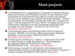 main projects