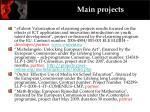 main projects1