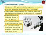 dosya sistemleri file system