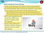 winfs windows future storage
