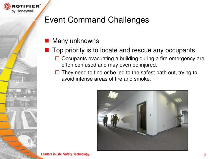 Event Command Challenges