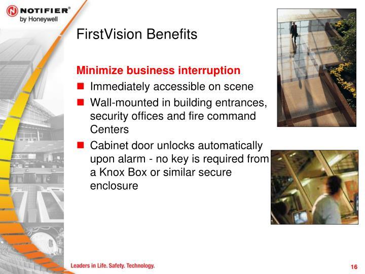 FirstVision Benefits