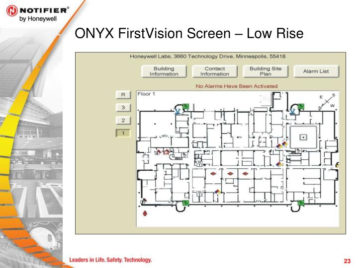 ONYX FirstVision Screen – Low Rise