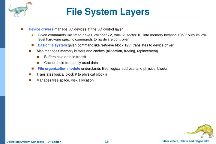 File System Layers