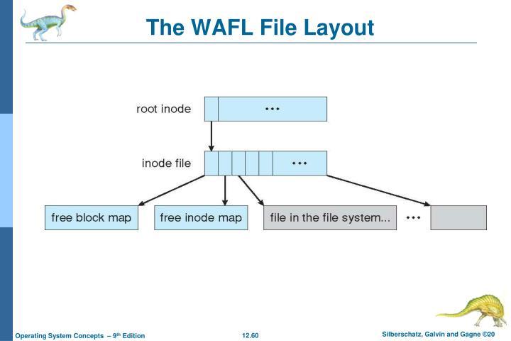 The WAFL File Layout