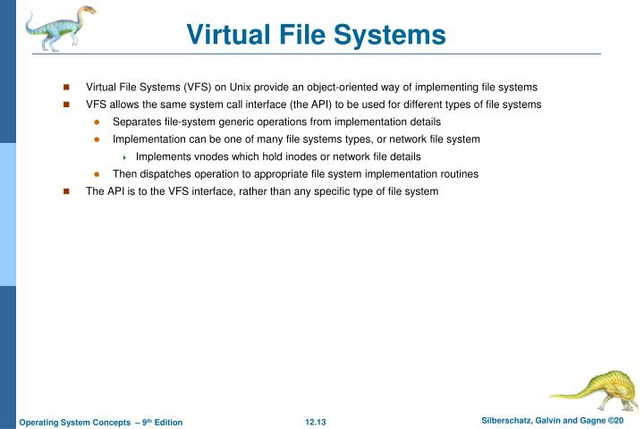 Virtual File Systems