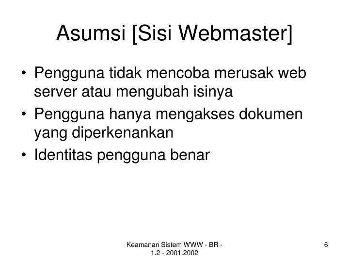 Asumsi [Sisi Webmaster]