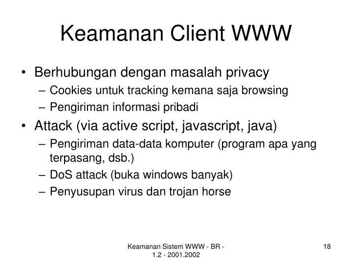 Keamanan Client WWW