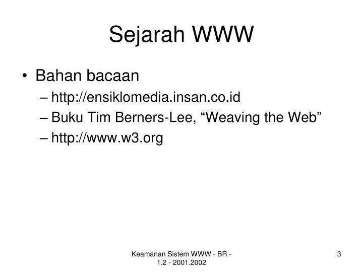 Sejarah www1