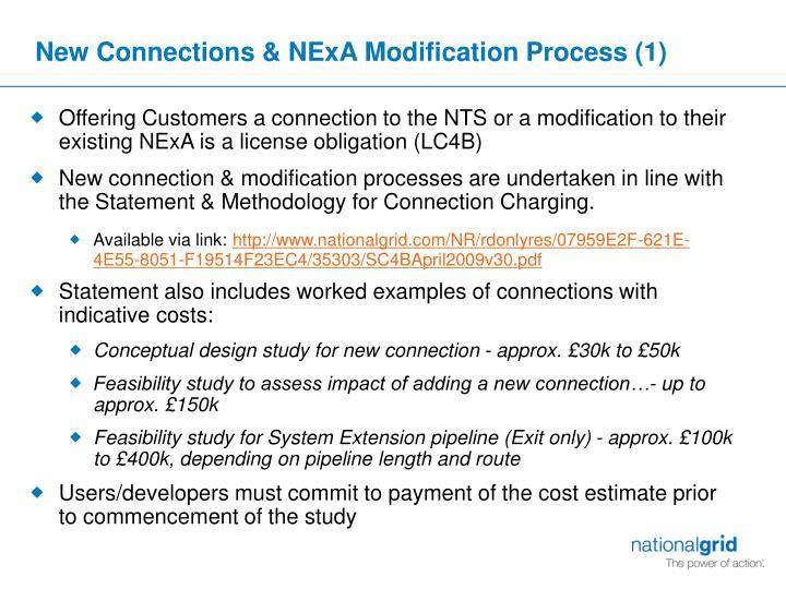 New Connections & NExA Modification Process (1)