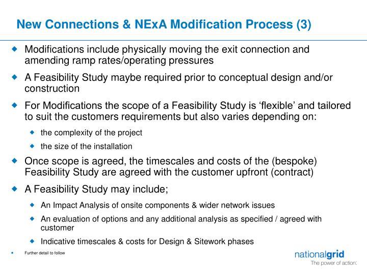 New Connections & NExA Modification Process (3)