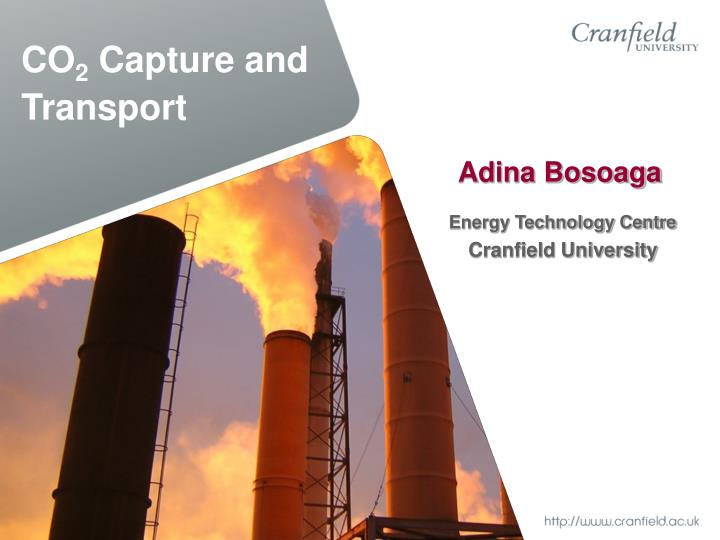 co 2 capture and transport n.