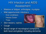 hiv infection and aids assessment1