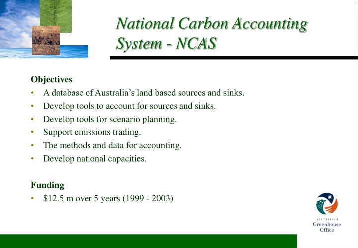 National carbon accounting system ncas