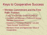 keys to cooperative success1