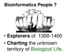 bioinformatics people