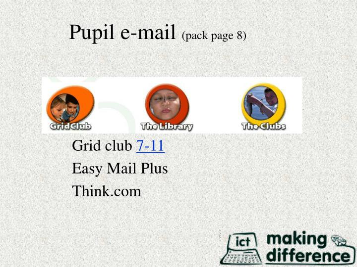 Pupil e-mail