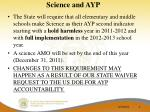 science and ayp