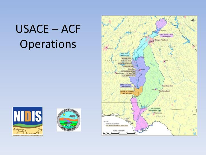 USACE – ACF Operations