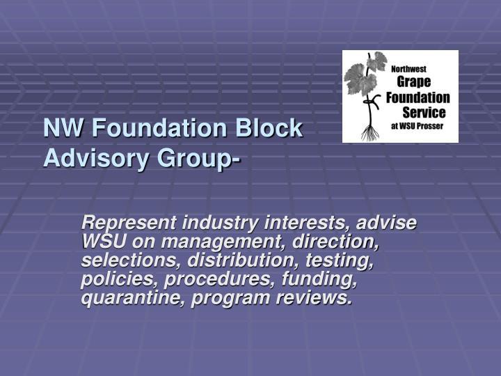 NW Foundation Block