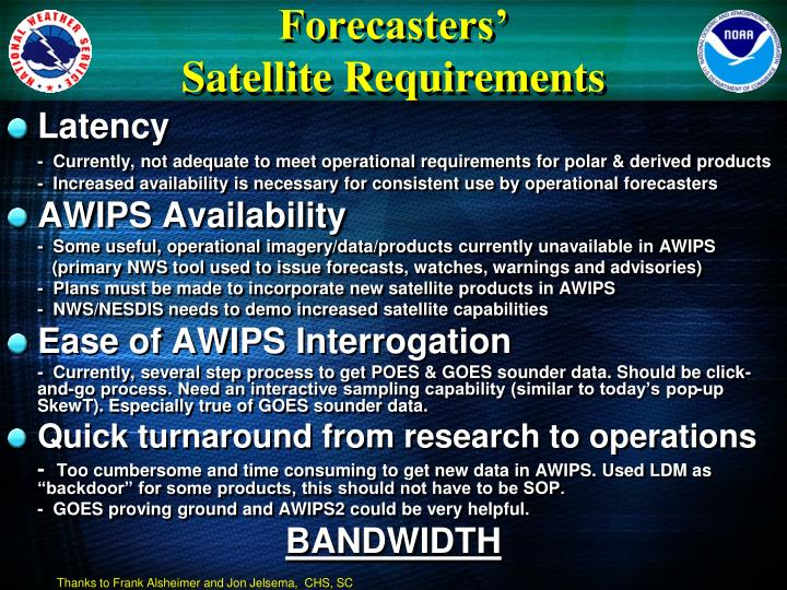 Forecasters'