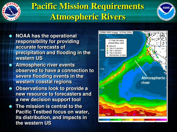 Pacific Mission Requirements