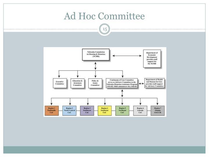 Ad Hoc Committee