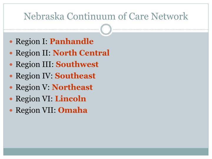 Nebraska Continuum of Care Network
