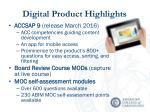 digital product highlights