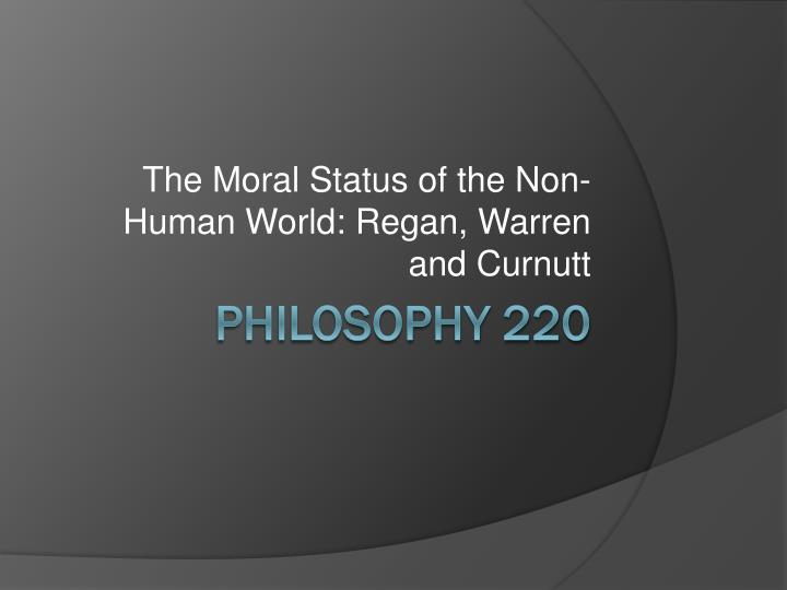 personhood morality and mary anne warren