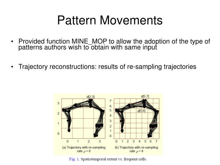 Pattern Movements