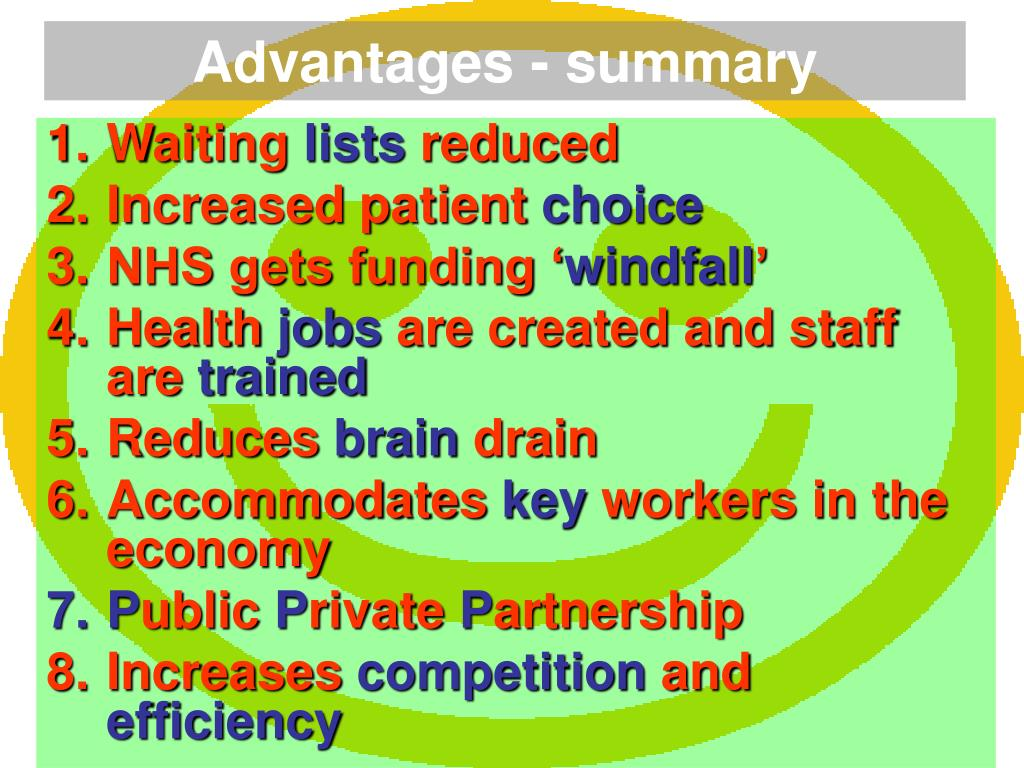 PPT - The NHS and the Private Sector PowerPoint Presentation - ID