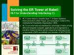 solving the er tower of babel hl7 for understanding interfacing 1