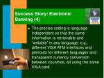 success story electronic banking 4
