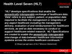 health level seven hl7