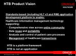 htb product vision