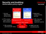 security and auditing authorization policy engine