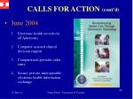 calls for action cont d2
