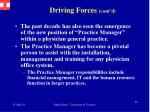 driving forces cont d2