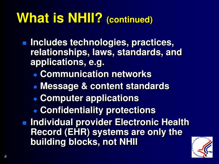What is NHII?