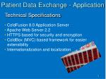 patient data exchange application1