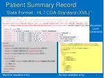 patient summary record1