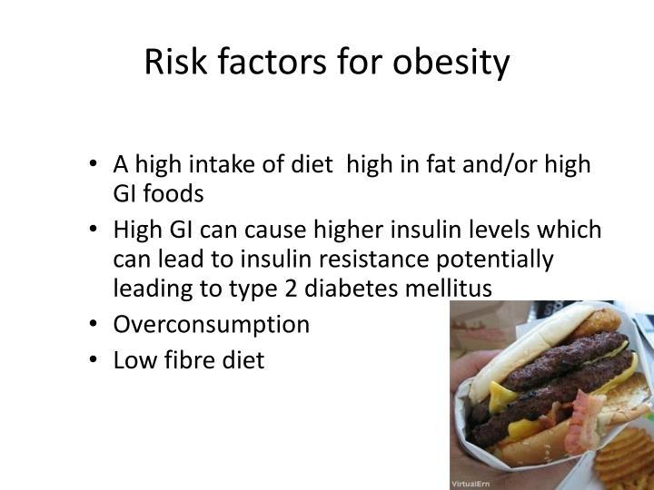 Risk factors for obesity